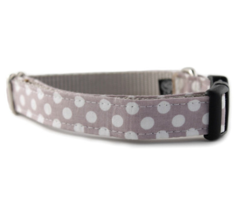 Cocoa Dot Dog Collar