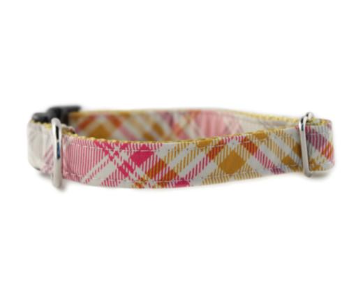 Jasper Plaid Dog Collar