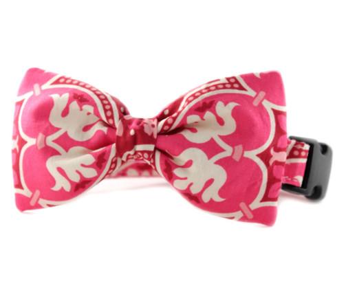 Emmalee Bow Tie Dog Collar