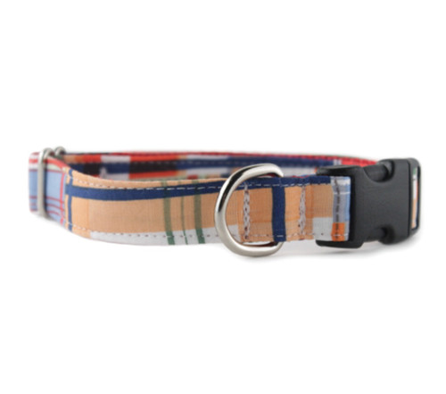 Mad About Plaid Dog Collar