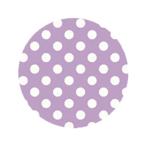 Lilac Dot Dog Leash