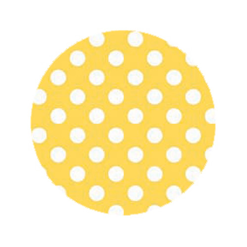 Lemon Dot Dog Leash