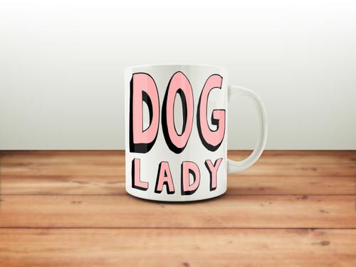 Dog Lady Coffee Mug
