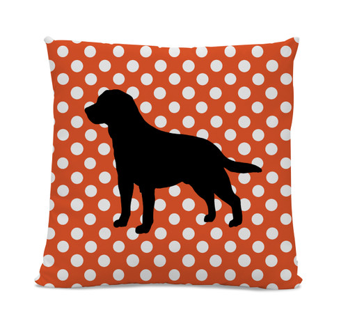 Polka Dot Lab Pillow