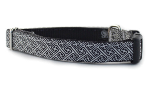 Navy Clancy Dog Collar