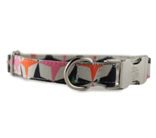 Retro Star Dog Collar