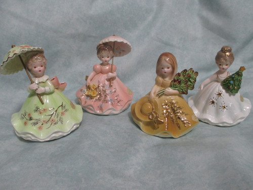 The Four Seasons Music Box Collection from 1985...