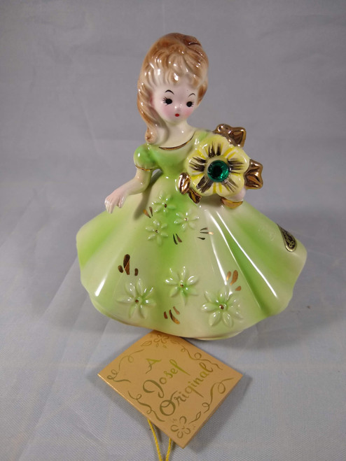 Vintage Birthstone Doll May
