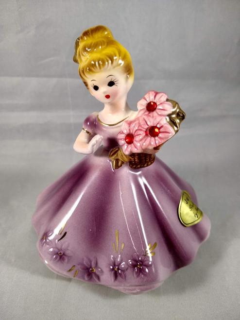 Vintage Birthstone Doll July