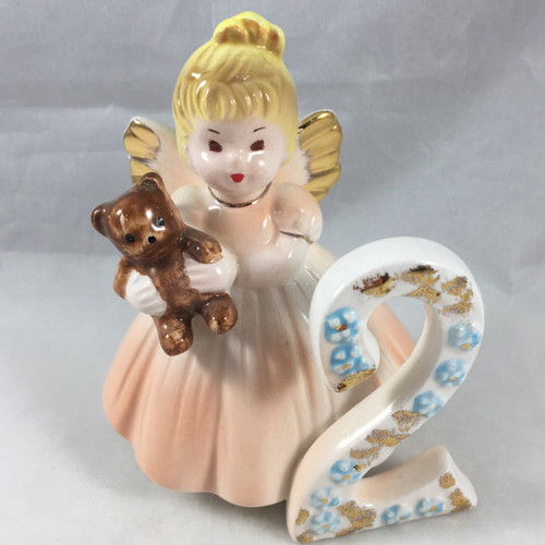 This is a  darling little #2 Birthday Doll  from Applause...