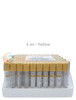 Vacuum Urine Collection Tubes for Drug Testing - 5ml Vials 100 Pack Yellow