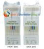 Healgen 7 Panel Oral Saliva Drug Test with ALCOHOL - FRONT and BACK side