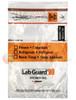 Lab Guard SBL2AP69B Polyethylene Specimen Bag with TearZone and Absorbent Pad, Destroyable Biohazard Symbol 1,000 bags