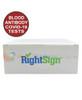 RightSign COVID-19 Antibody Test - IgGIgM Rapid Blood Screen Cassette Box -  Identify Diagnostics