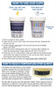 Identify Diagnostics USA - 14 Panel Drug Test Cup ETG, Fentanyl, K2, Tramadol - Directions