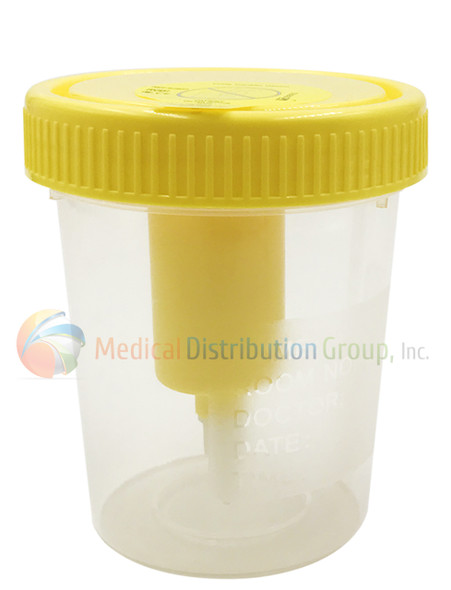 Vacuum Urine Collection Cups for Drug Testing - 120ml