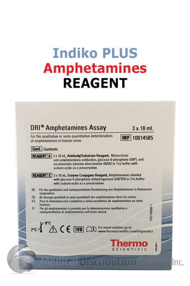 DRI Amphetamines Reagent Indiko Plus 10014585 | Medical Distribution Group