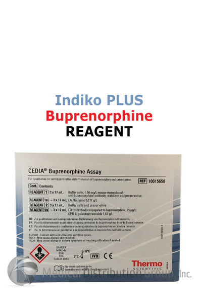 CEDIA Buprenorphine Reagent Indiko Plus 10015658 | Medical Distribution Group