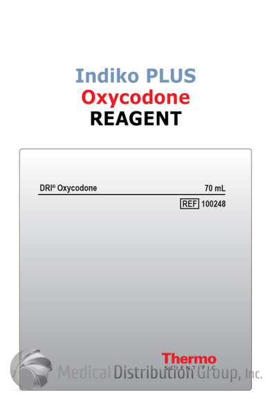 DRI Oxycodone Reagent Indiko Plus 100248 | Medical Distribution Group