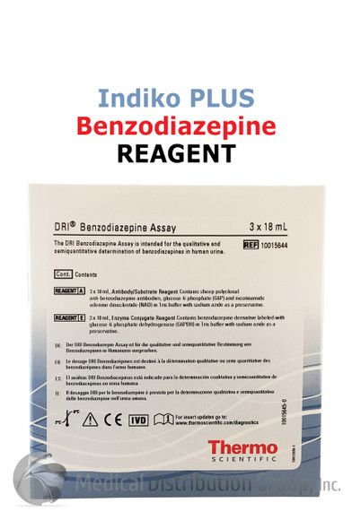DRI Benzodiazepine Reagent Indiko Plus 10015644 | Medical Distribution Group