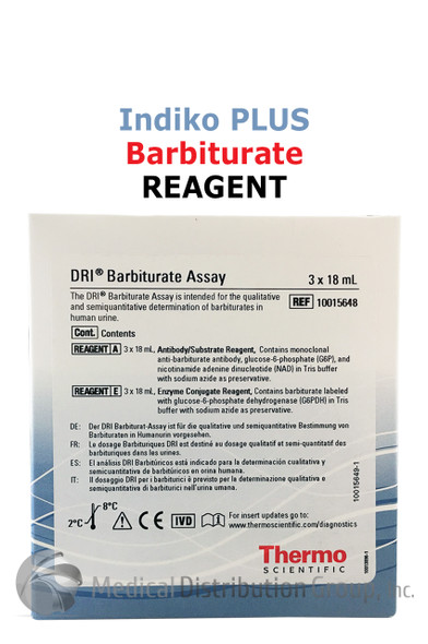 DRI Barbiturate Reagent Indiko Plus 10015648 | Medical Distribution Group