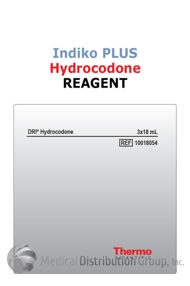 DRI Hydrocodone Reagent Indiko Plus 10018054   Medical Distribution Group