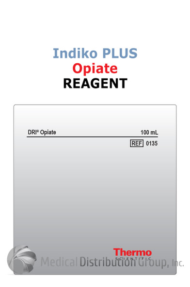 DRI Opiate Reagent Indiko Plus 0135 | Medical Distribution Group