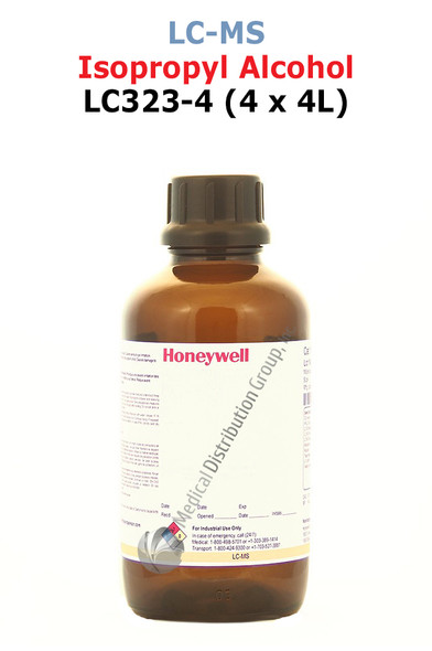 Isopropyl Alcohol LC323-4 Honeywell LCMS Medical Distribution Group