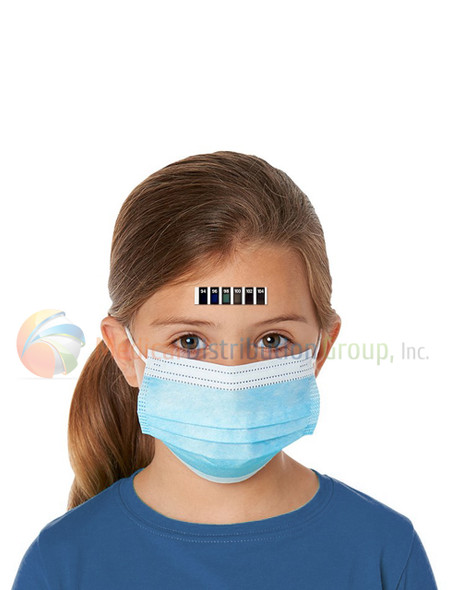 Forehead Temperature Strips by Feverscan  - Disposable Self Applied Thermometers - P436 - Medical Distribution Group