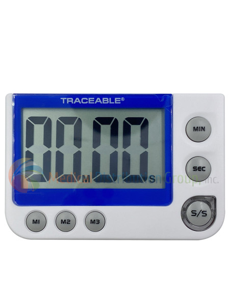 Traceable Flashing LED Alert Big Digit Timer - EW-94461-15 - Medical Distribution Group