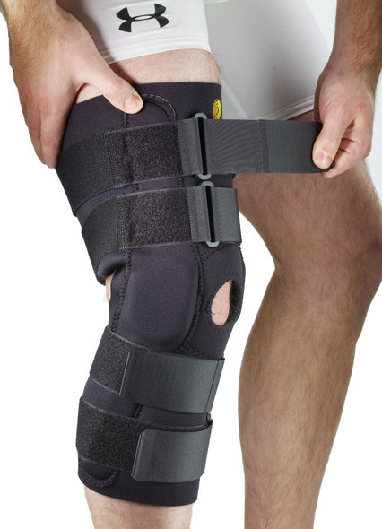 Posterior Adjustable Knee Sleeve with ROM Hinge