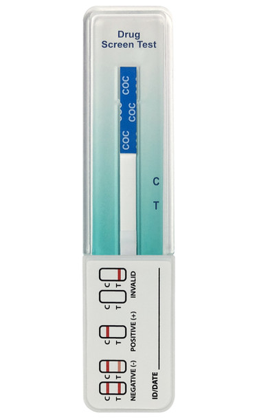 Identify Health Single Panel Cocaine COC Drug Test Dip - CLIA Waived, FDA Approved