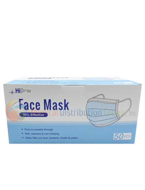 N95 Face Mask Respirator by Hi-Dow - 20 Per Box