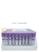 Vacuum Urine Collection Tubes for Drug Testing - 5ml Vials 100 Pack Lavender