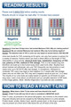 Identify Diagnostics 7 Panel Drug Test Dip with Adulterations - READING RESULTS - Medical Distribution Group