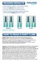Identify Health THC Marijuana Drug Test Dips - READING RESULTS - Medical Distribution Group