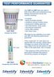 Identify Health Drug Test Dips - DRUGS PARENT CHART - Medical Distribution Group