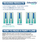 Identify Health COC Cocaine Drug Test Dips - READING RESULTS - Medical Distribution Group