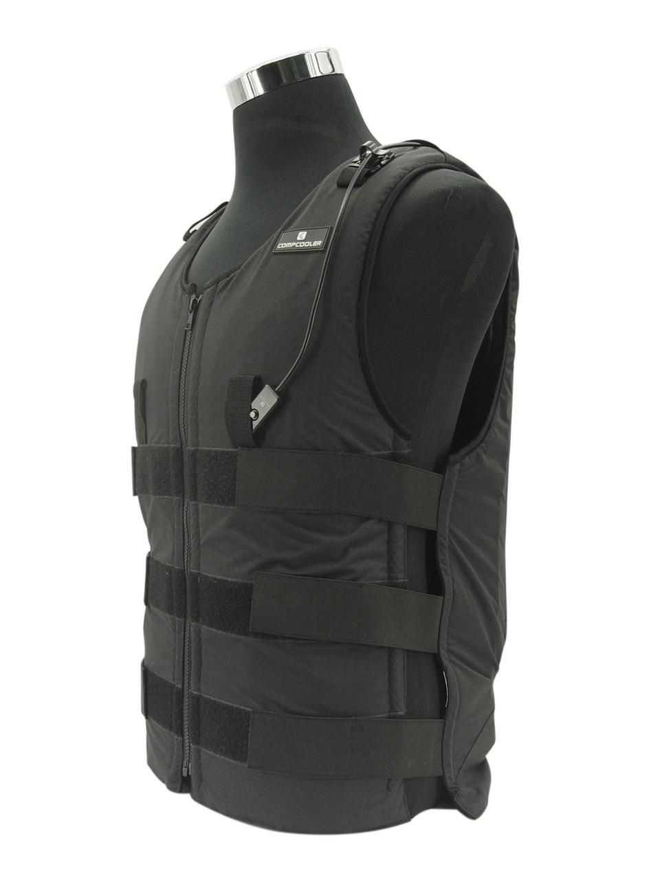 Ice Water Circulating Cooling Vest Black Detachable Bladder