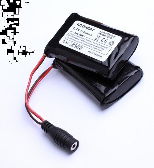 805B 7.4V, 1700mAh Li-ion Battery for BX805 Epic Series Gloves