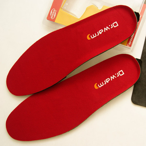 Built-in Battery Heated Insoles with Remote Control