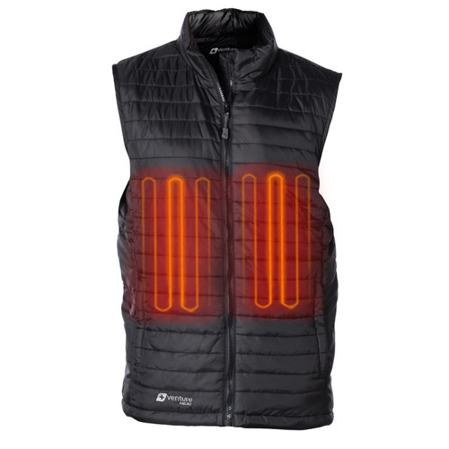 Men's Heated Puffer Vest BH1693