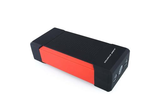 60WH Multi-Function Power Pack - Jump Starter, Flashlight, USB 5V, DC12-16-19V