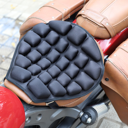 The Coolest  Motorcycle Inflatable Air/Water 3D Seat Cushion