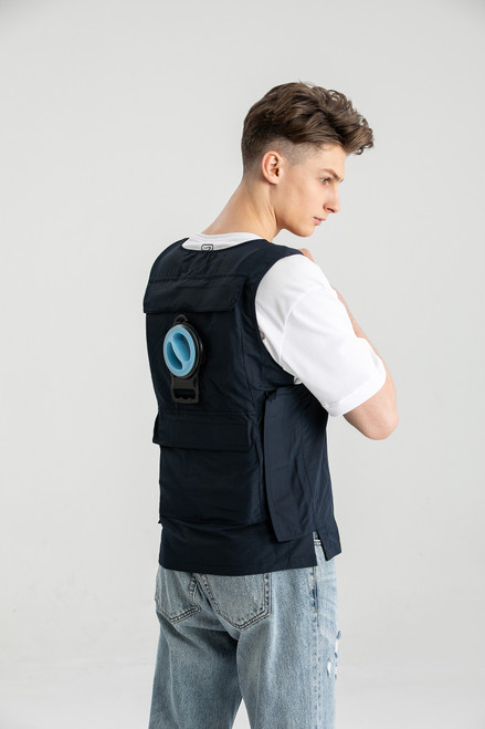 Ice Water Circulating Cooling Vest with 3 Litre Ice Bladder Built-in
