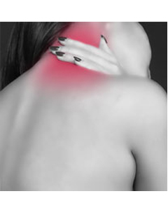 Plug-in Infared Heat Therapy Neck Wrap