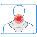 Plug-in Infrared Heat Therapy Neck Wrap