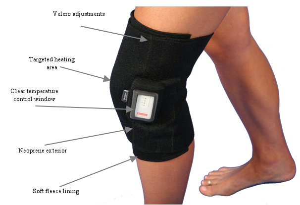 Rechargeable Infrared Heat Knee Wrap