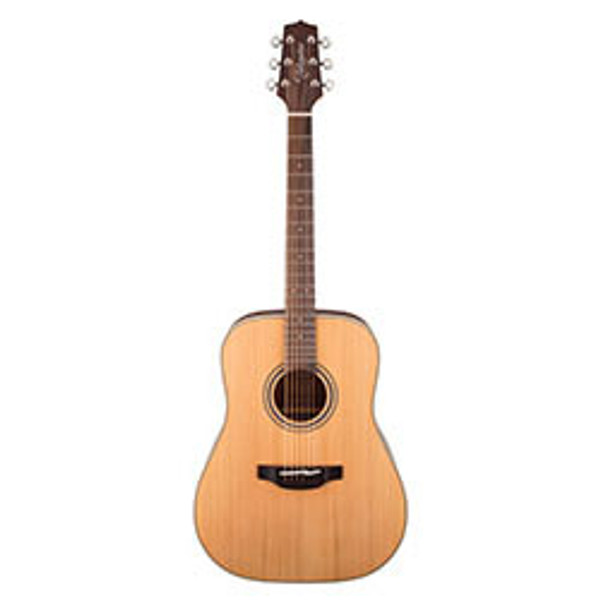 Takamine G20 Series Dreadnought Acoustic Guitar in Natural Satin Finish