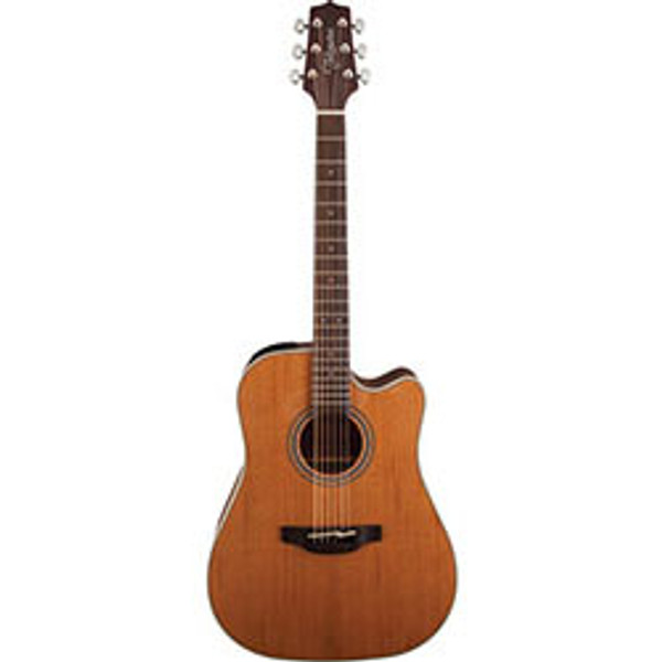 Takamine G20 Series Dreadnought AC/EL Guitar with Cutaway in Natural Satin Finish Ret $799